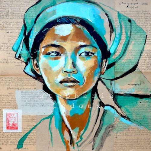 Marché Pao - Birmanie by Stéphanie Ledoux
