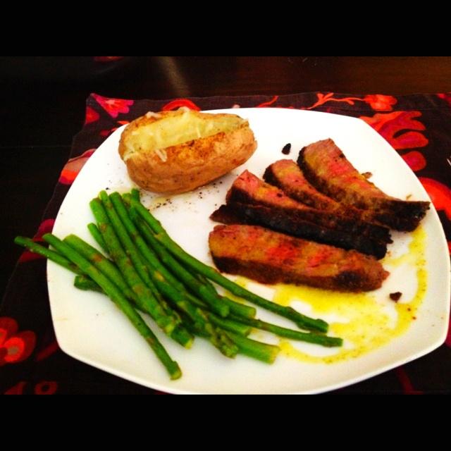 London broil, Lemon pepper and Baked potatoes on Pinterest