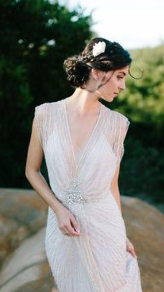 Jenny Packham 'Lilya' Wedding Dress!!! 2016 collection Size 12 UK, fits US 6-8  #Sheath