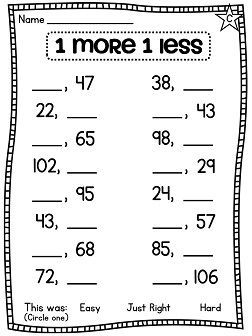 First Grade Math Unit 2: Number Sense, Part Part Whole ...