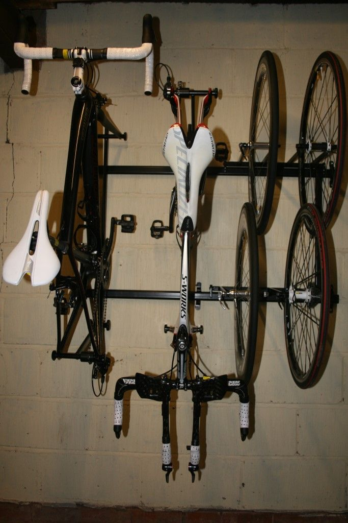 Great bike rack - 2 bike / 4 wheel - Pro Cycle Storage