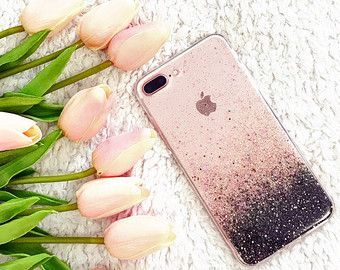 Rose Gold iPhone 7 case iPhone 7 plus case iPhone by HandmadebyTN