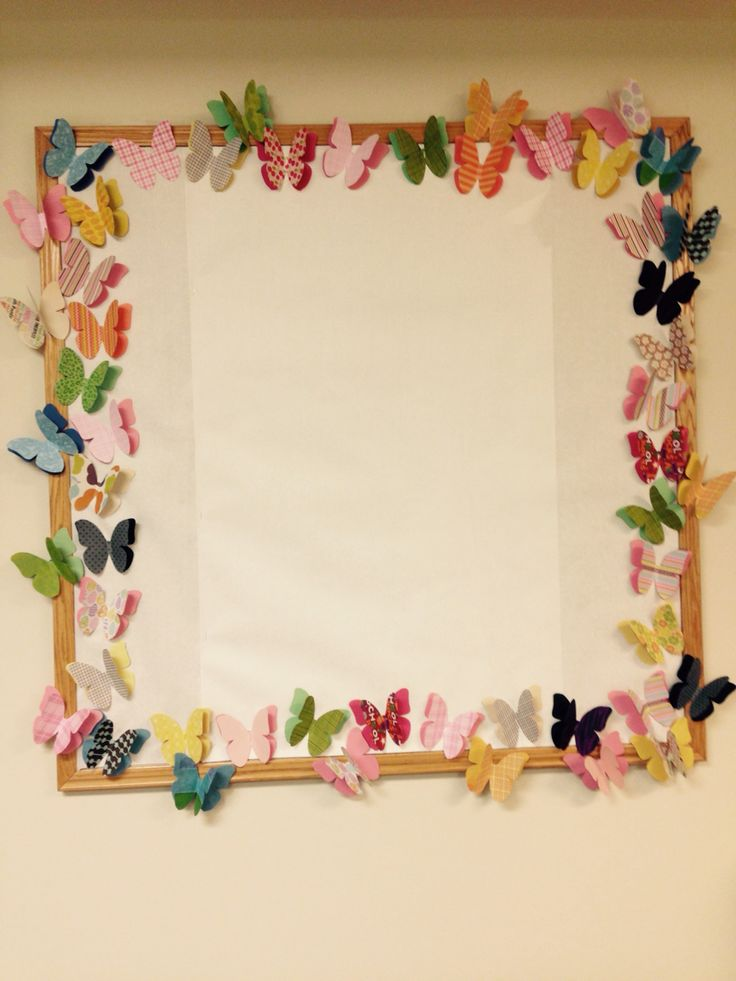 Butterfly Classroom Decorations : Butterfly border bulletin boards pinterest