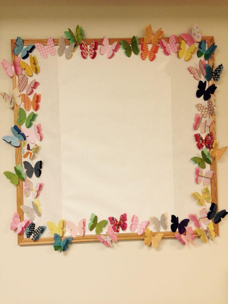 Classroom Border Ideas ~ Best ideas about butterfly bulletin board on pinterest