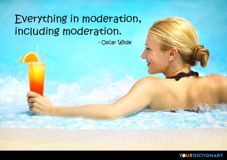 """Stop Saying """"Everything In Moderation"""""""