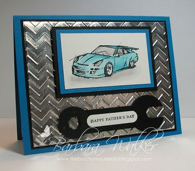 The Buzz: Father's Day Card, featuring products from Stampin' Up!