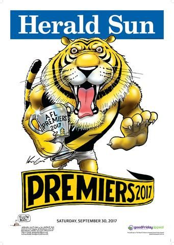 Mark Knight Premiership Poster - 2017