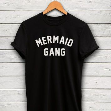 Mermaid tshirt - For me and my mermies, you know who you are
