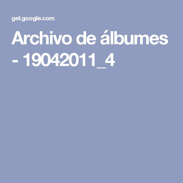 Archivo de álbumes - 19042011_4