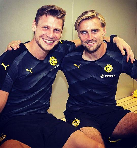 Lukasz Piszczek & Marcel Schmelzer - Nationalspieler Polen + Deutschland in Diensten des BVB
