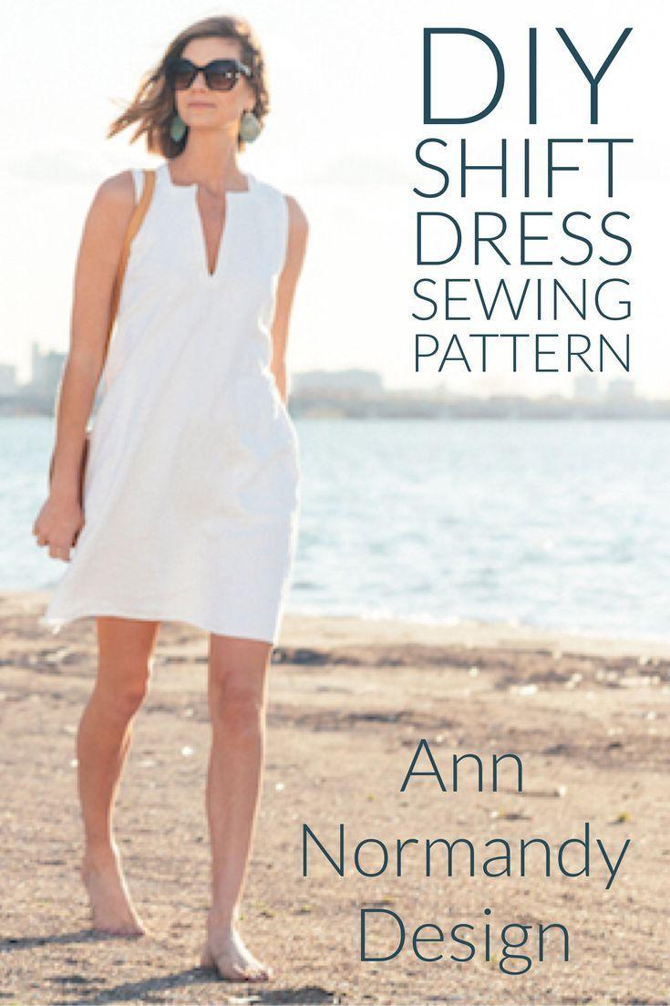 Pin On Diy Sleeveless Shift Dress Pdf Sewing Pattern