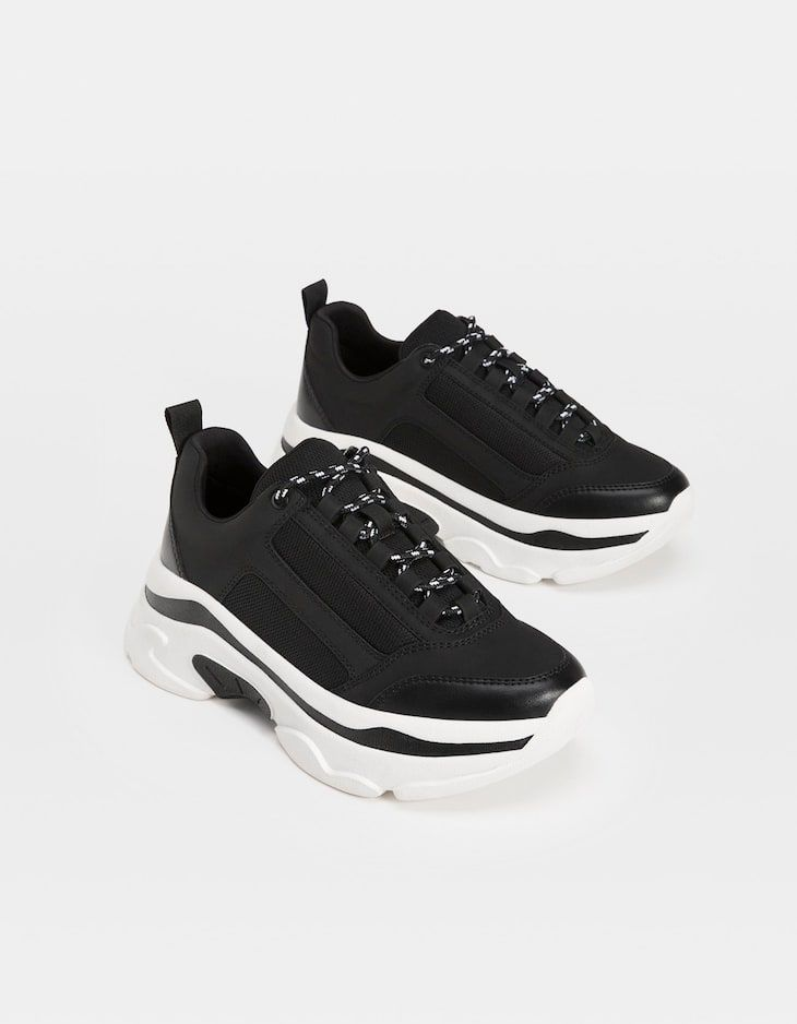 Sneakers nere con piattaforma | Shopping! nel 2019