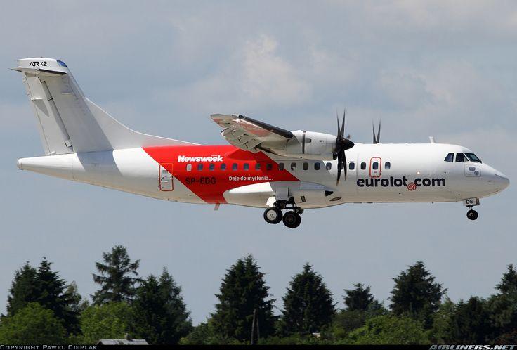 EuroLOT SP-EDG ATR ATR-42-500 aircraft picture
