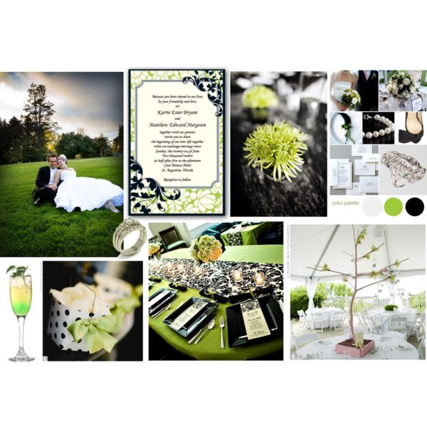 66 Best Images About Lime Green And Black Wedding Ideas On Pinterest