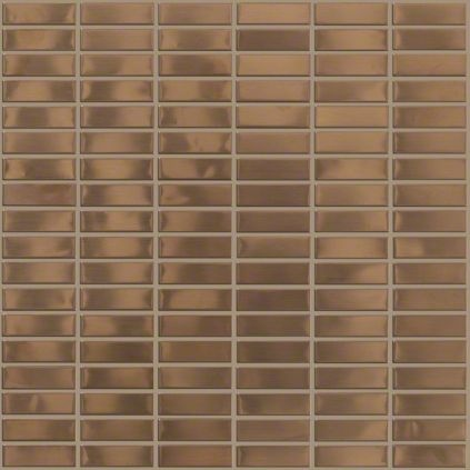 Wall Tile In Style Quot Modern Metal Quot Mosaic Color Brushed