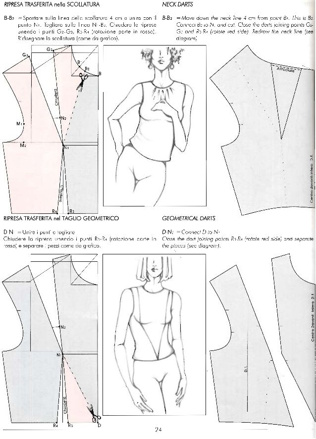 Il modellismo book for patternmaking milano instituti for Il modellismo burgo