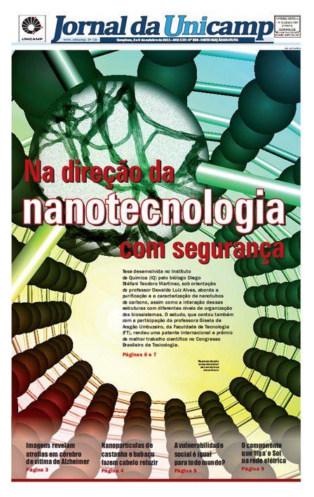 Na direção da nanotecnologia com segurança.  Pequenas estruturas grandes responsabilidades