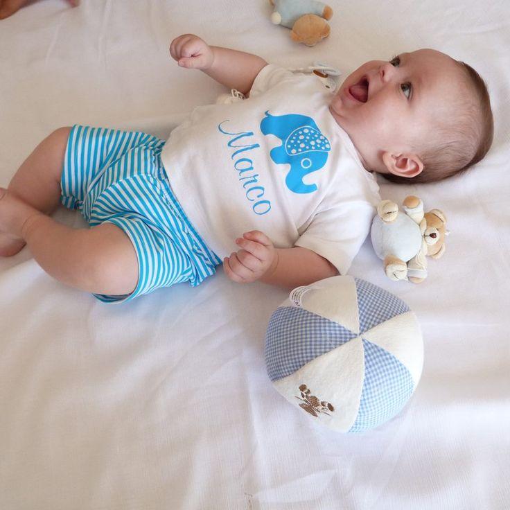 CAMISETA PARA MARCO. Ropa personalizada para bebé. Ropa y regalos ...