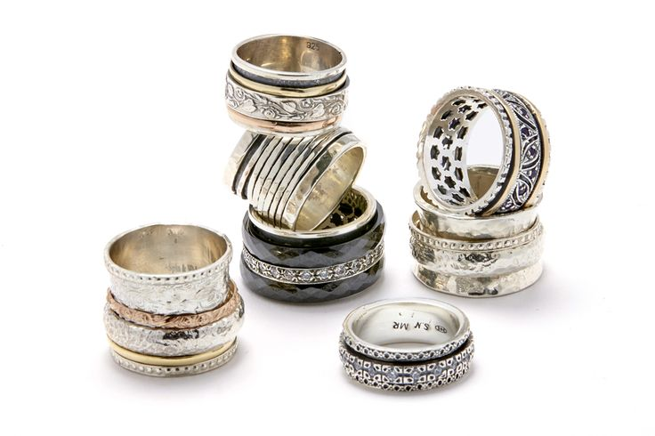 Something new at the Shop at AGH! Meditation Rings made of the finest materials to keep you balanced all day. Stop by the AGH Gallery shop for a full selection. #shopatagh #hamont #artgalleryofhamilton #gifts #rings
