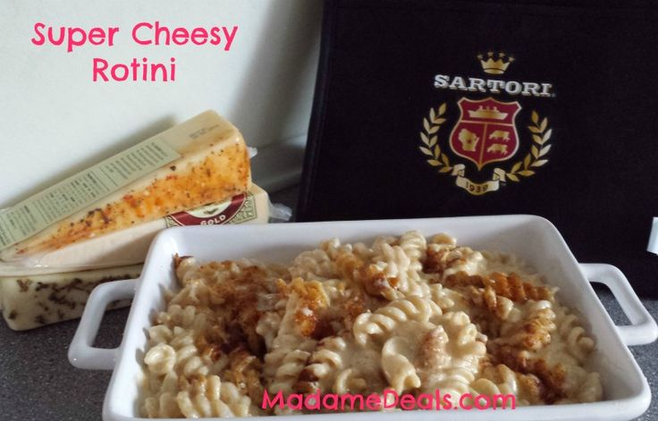 Delicious Lunch or Dinner Recipe-- Super cheesy rotini
