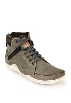 Lee Cooper Grey Boots - Buy Men Boots Online   LE080SH55ZYEINDFAS