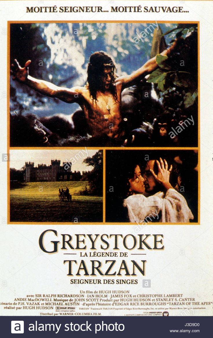 Greystoke: The Legend of Tarzan, Lord of the Apes (1984) Cast:  Christopher Lambert, Andie MacDowell, Ralph Richardson, etc -- to watch free go to -- http://123moviesfreez.com/watch/greystoke-the-legend-of-tarzan-lord-of-the-apes-1984-online-free-123movies.html