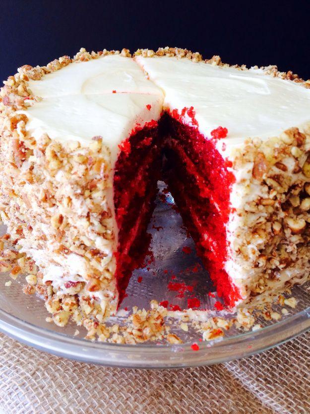 TRIPLE Layer Red Velvet Cake | love | Pinterest