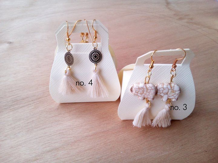 Pack your bags and go!  Must have summer earrings for you to choose.  Pick the ones that suit you best. Available at: http://etsy.me/2rwIxpa