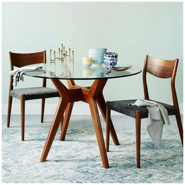 Jensen Round Dining Table Jensen Round Glass Dining Table Our