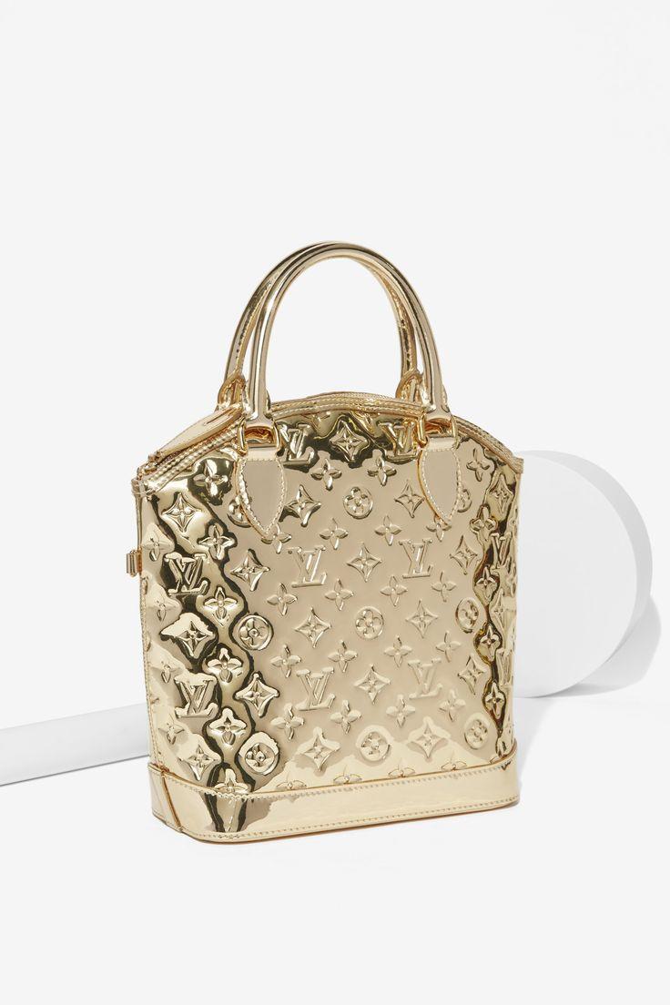 Vintage Louis Vuitton Monogram Miroir Lockit bag
