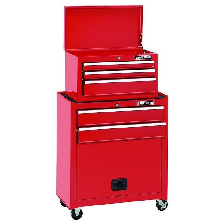 Craftsman Tool Chest 5 Drawer Storage Cabinet Toolbox