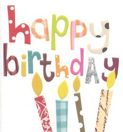 Birthday Card - 'Happy Birthday'