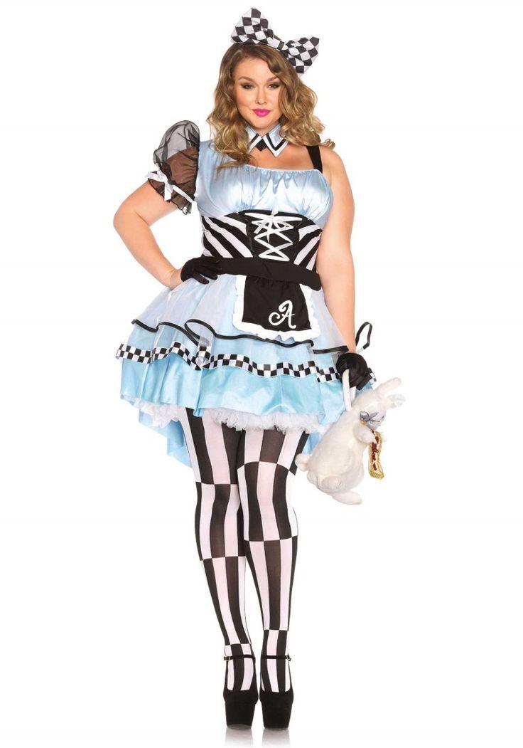 Alice jelmez divatos, hátulra hosszabbodó szoknya résszel.