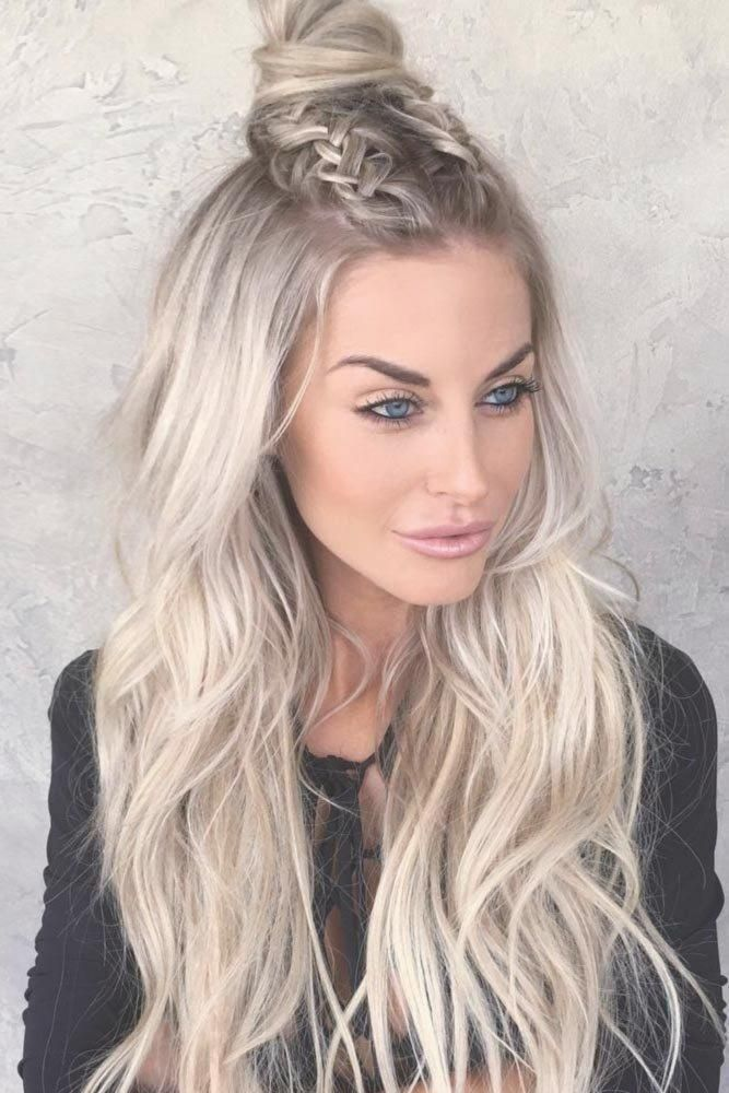 Grosse Frisur Blond Lang Jungs Und Frauen Haar Frisuren 2018 Augen Make Up Grun Fur Haarfarben Blond Einfache F Thin Hair Haircuts Hair Styles Icy Blonde Hair