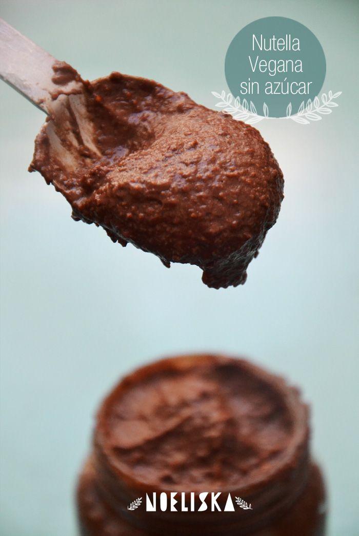 Nutella vegana (y sin azúcar) Nutella en realidad es una marca, pero básicamente cuando hablamos de nutella estamos hablando de una crema de avellanas con chocolate. Lo malo de Nutella es que sus...