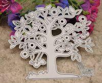 Forma di albero di carta metallo fustellatura morire per Scrapbooking / Casa FAI DA TE Fatti a mano album di Carta