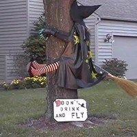 Eine betrunkene Hexe