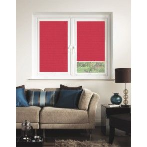 Crush SPC Scarlet Perfect Fit Pleated Blind