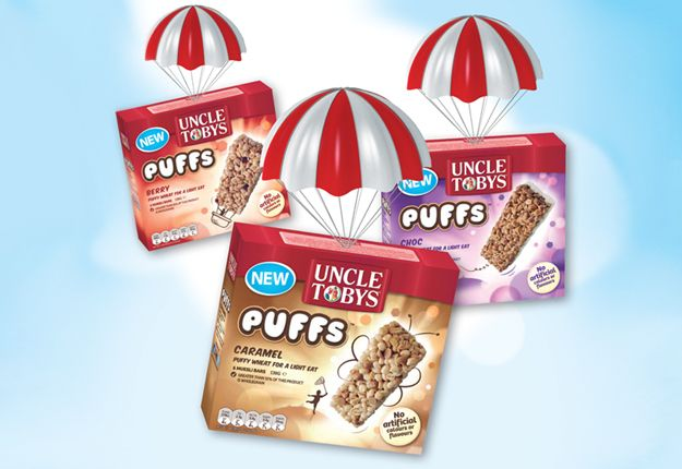 Free sample of UNCLE TOBYS PUFFS