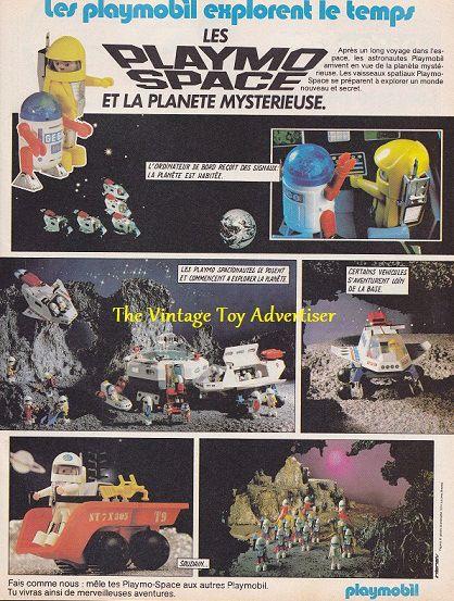 Pif 761. Playmo Space. 1983wm