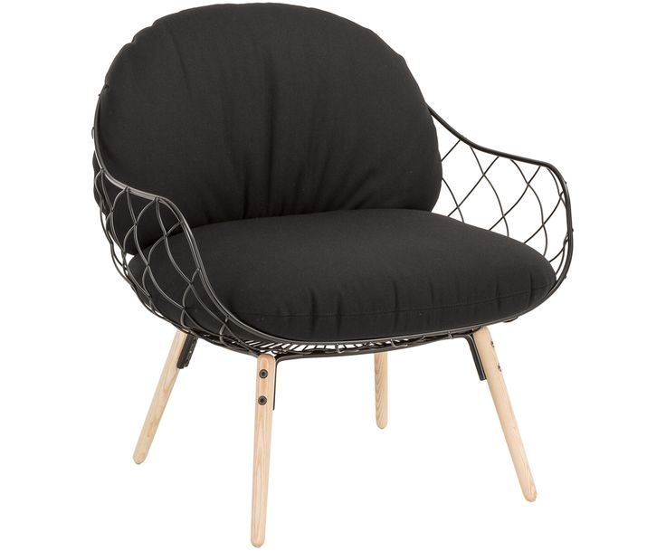 Machen Sie Ihr Wohnzimmer mit Sessel Piña in Schwarz zur Wohlfühloase. Entdecken Sie weitere Möbel von MAGIS DESIGN auf >> WestwingNow.
