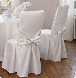 Un lien d'une société qui loue des housses de chaises et d'autres déco de mariage (2/3€ /housse avec ruban )