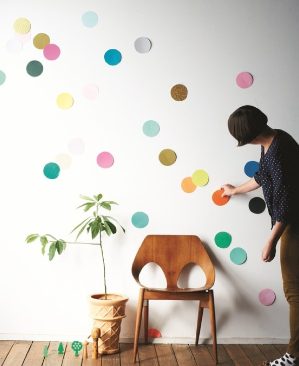 Find How To Make A Giant Confetti Room