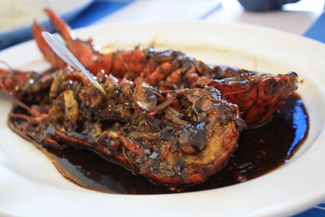 Blackpepper lobster