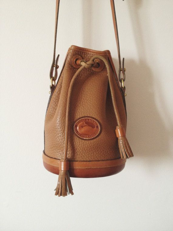 Vintage Dooney amp Bourke Bucket Bag UXUI Designer And