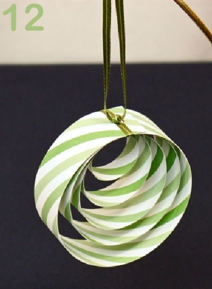 24 Great Ideas for DIY Christmas Paper Ornaments