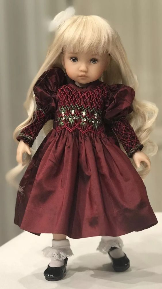 10 Quot Doll Boneka Dianna Effner Tuesdays Child Smocked