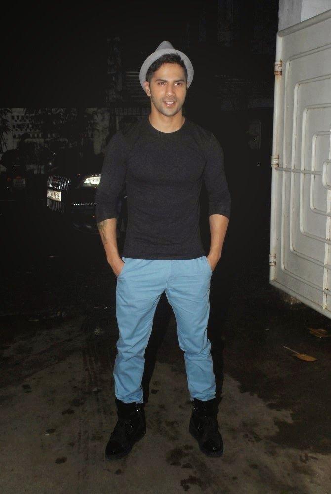 Varun Dhawan at Finding Fanny Special Screening.