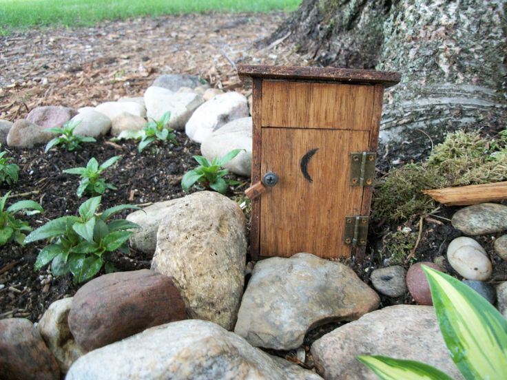 https://flic.kr/p/VUcQws | Little Outhouse. | There is something new in our little garden. My 'Handy Kinda' Guy' made this little outhouse for it.