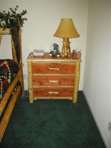 Add A Classy Rustic Vibe To Any Bedroom With This Bedside Table Made From  Colorado Aspen. Log FurnitureBedside ...